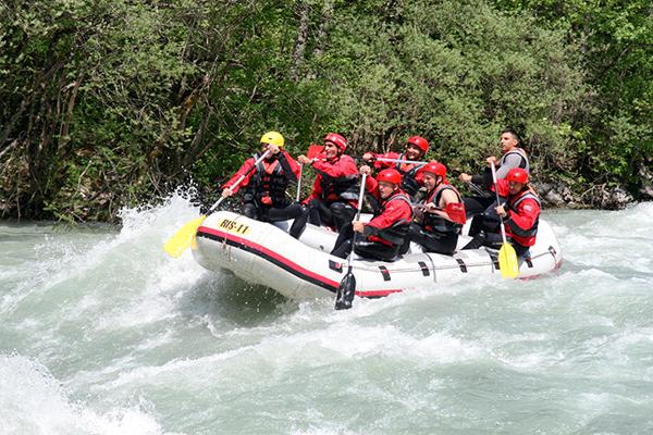 rafting na rijeci tari novov